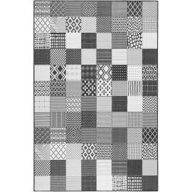 Tapis extérieur et intérieur motif géométrique Chester