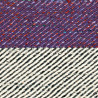 Tapis en soie de Sarée et laine plat gris Tip Top Arte Espina