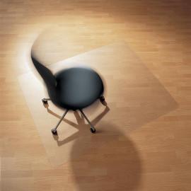 Tapis de chaise protège-sol transparent recyclé Coco