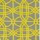 Tapis jaune en coton fait main Flashy Geometry Arte Espina