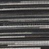 Tapis en cuir et laine noir Pioneer Arte Espina