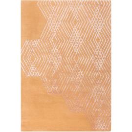 Tapis design en laine à courtes mèches pour salon Diamonds