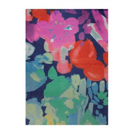 Tapis multicolore en acrylique Esprit Home Spring Flower