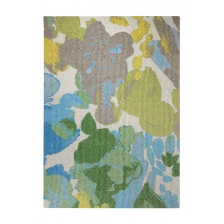 Tapis coloré en acrylique Esprit Home Spring Flower