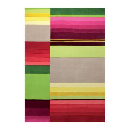 Tapis Esprit Home multicolore d'intérieur Block Pattern