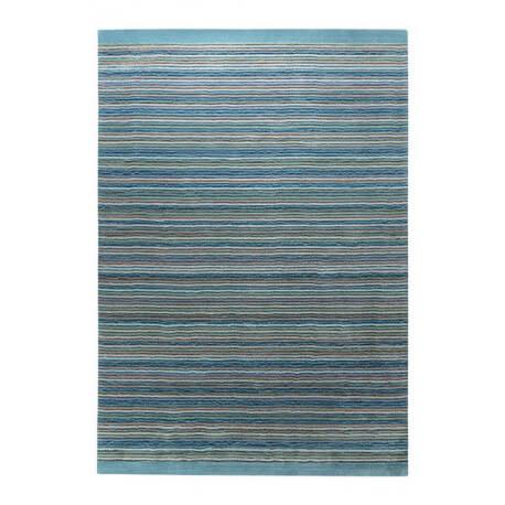 Tapis bleu pour chambre en acrylique Samba Stripes Esprit Home