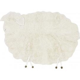 Tapis enfant en laine Pink Nose Sheep