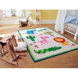 Tapis pour chambre de bébé beige Zoo Esprit Home