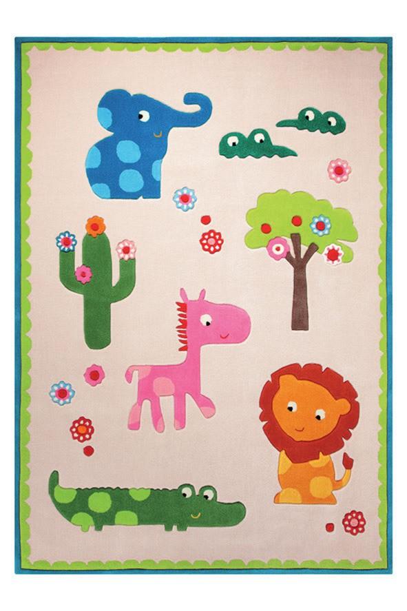 Tapis pour chambre de bébé Zoo Esprit Home