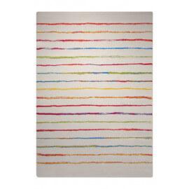 Tapis à courtes mèches blanc Joyful Stripes Esprit Home