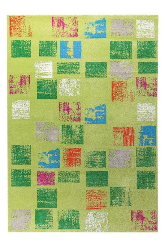 Tapis Esprit Home en polypropylène design vert Cuadros