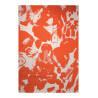 Tapis moderne en polypropylène orange Energize Esprit Home