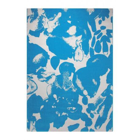 Tapis moderne en polypropylène bleu Energize Esprit Home