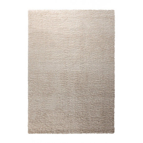 Tapis shaggy en polyester blanc Cosy Glamour Esprit Home