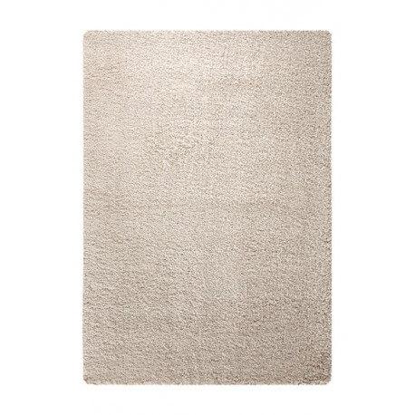 Tapis à longues mèches uni beige Super Glamour Esprit Home