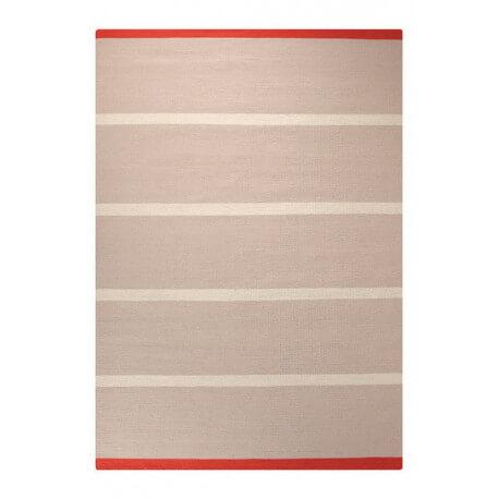 Tapis plat tissé main du Népal sable Simple Stripe Esprit Home