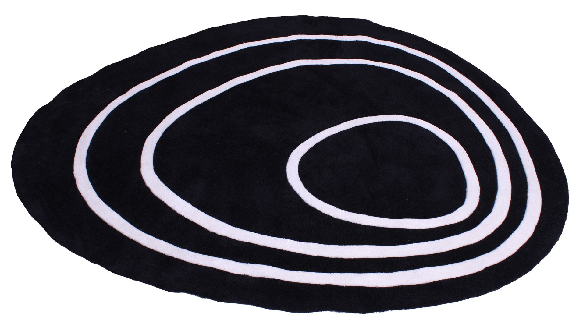 tapis ovale en acrylique palmer. Black Bedroom Furniture Sets. Home Design Ideas
