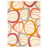 Tapis rectangle fifties chic II par Arte Espina