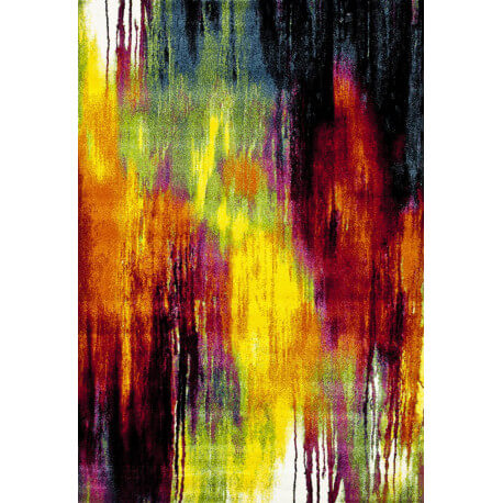 Tapis coloré en polypropylène design Janeiro