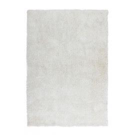 Tapis fait main shaggy blanc Style par Lalee