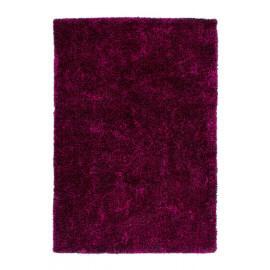 Tapis fait main shaggy violet et noir Style par Lalee