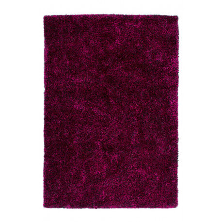 tapis fait main shaggy violet et noir style par lalee. Black Bedroom Furniture Sets. Home Design Ideas