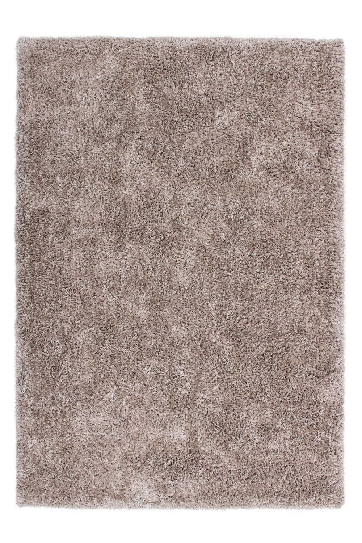 Tapis fait main shaggy beige Style par Lalee
