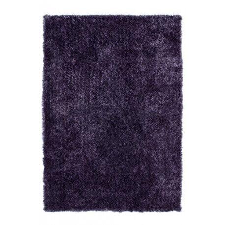 Tapis de salon doux en polyester lila Tango par Lalee