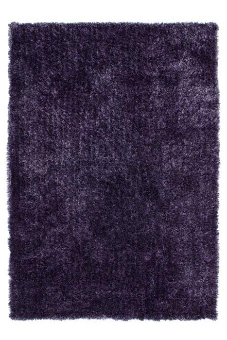 Tapis doux en polyester lila Tango par Lalee