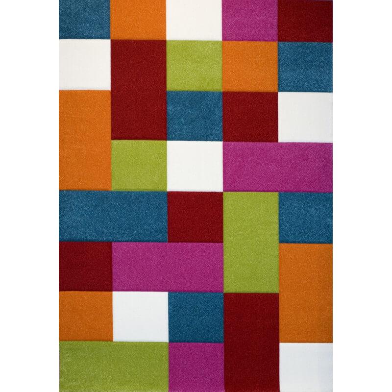 tapis multicolore pour chambre denfant deeper