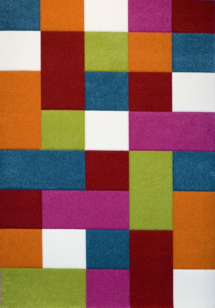 Tapis multicolore pour chambre d'enfant Deeper