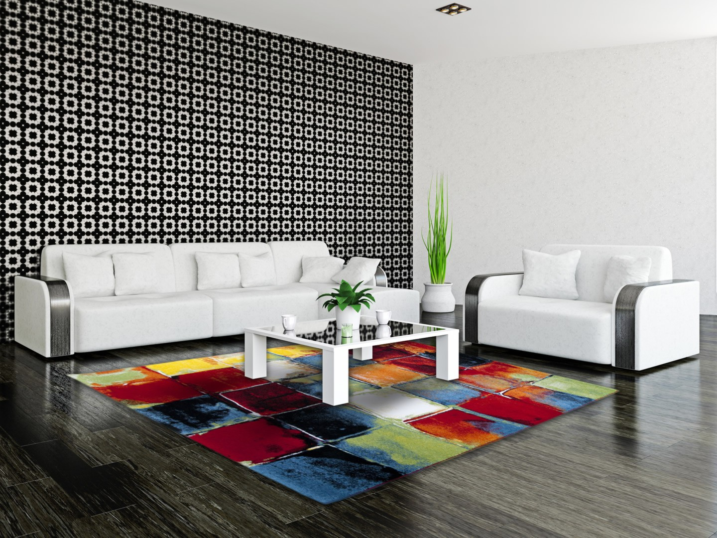amazing tapis de salon moderne 3 tapis salon. Black Bedroom Furniture Sets. Home Design Ideas