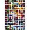 Tapis coloré à motifs carrés design Curitiba
