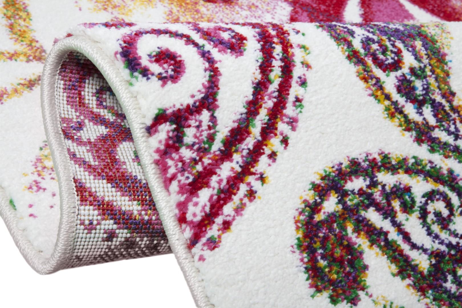 Tapis de salon multicolore vintage Campinas