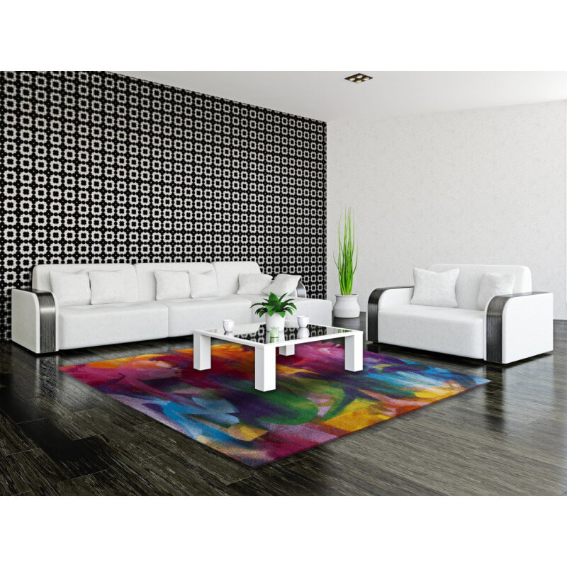 tapis color pour chambre moderne caxias. Black Bedroom Furniture Sets. Home Design Ideas