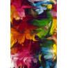 Tapis coloré pour chambre moderne Caxias