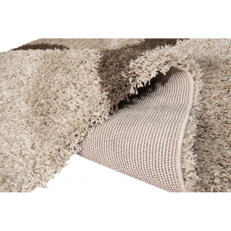 tapis design shaggy beige enjoy. Black Bedroom Furniture Sets. Home Design Ideas