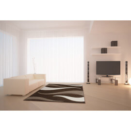 Tapis moderne Helvet vague