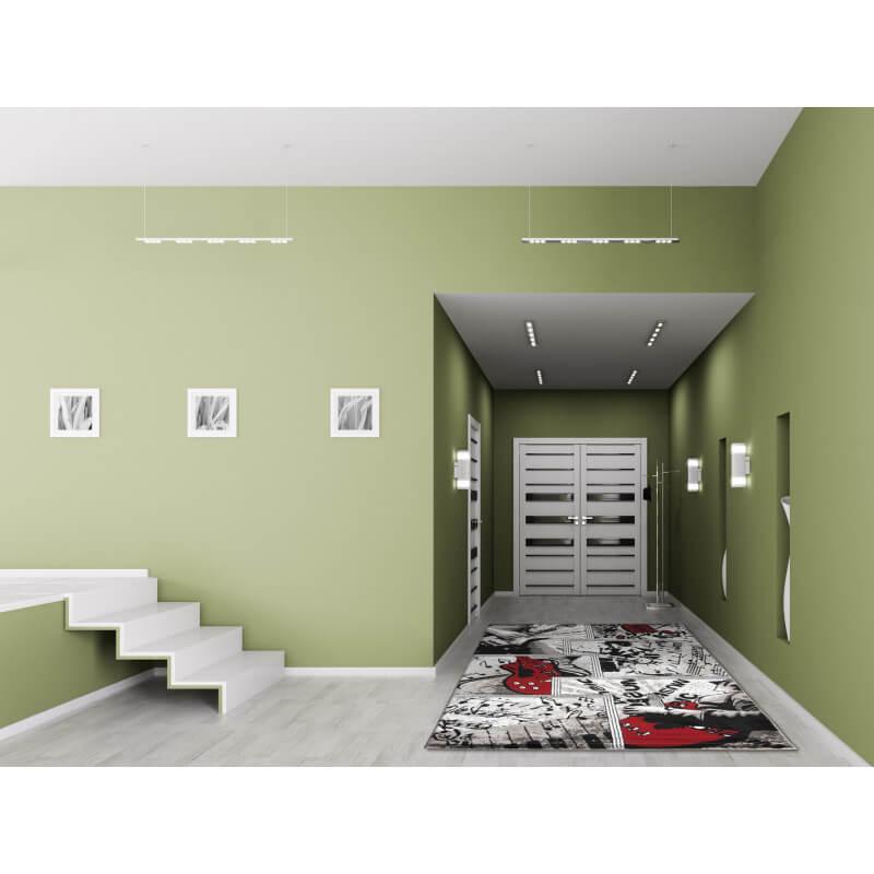 tapis d 39 entr e design argent city. Black Bedroom Furniture Sets. Home Design Ideas