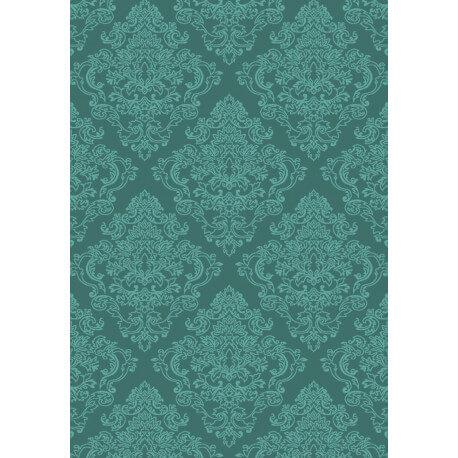 Tapis vert d'intérieur en acrylique Tixi