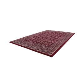 Tapis de salon à motif oriental rouge Gabès