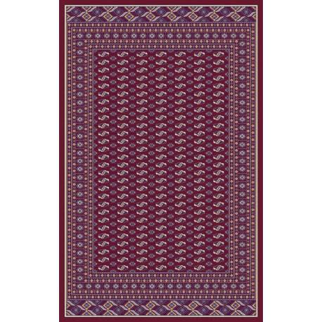 tapis de salon motif oriental rouge gabs - Tapis Oriental Rouge