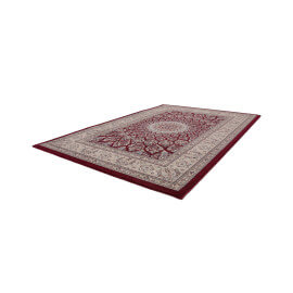 Tapis style orient rouge rectangulaire Bizerte