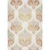 Tapis ivoire d'intérieur en acrylique Marquis