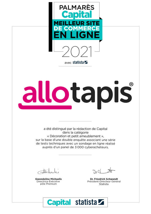 AlloTapis label Capital 2021