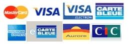 Ensemble des cartes bancaires