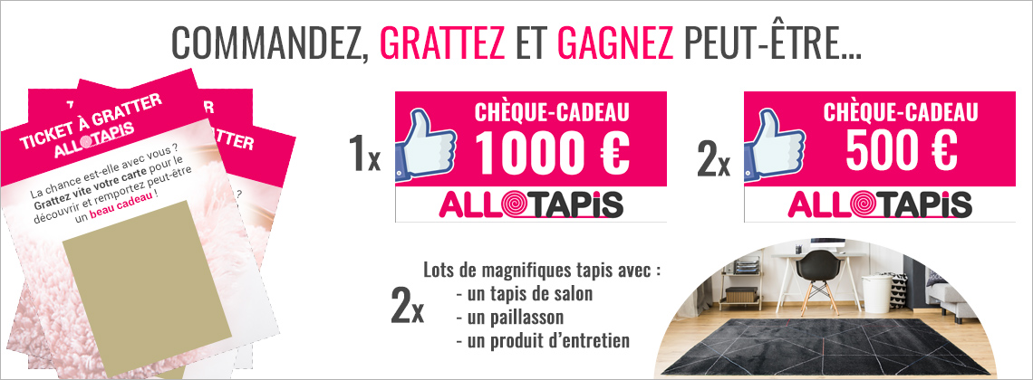 Ticket à gratter - AlloTapis
