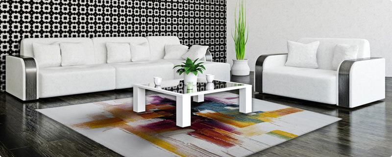 Tapis blanc | AlloTapis.com